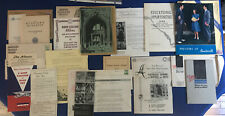Lot 14 1942 College University Brochure Ephemera Temple Drexel Bucknell More