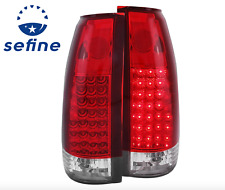 ANZO LED TAIL LIGHTS G2 RED/CLEAR FOR 88-00 C/K1500/2500/3500 SUBURBAN BLAZER