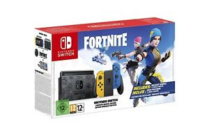 Nintendo Switch Console - Fortnite Limited Edition Lieferung OHNE Downloadcode