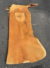 New Listing Handmade Western Bat Wing Chaps with Pockets