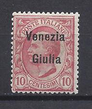 Occupazione Italiana VENEZIA GIULIA 1918-19 Soprastampato 10c MH* (EX)