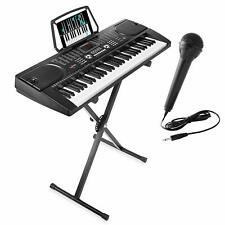 61 Key Digital Music Piano Keyboard Portable Electronic Musical Instrument Stand