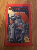 Black Hole Assault Sega CD MANUAL ONLY INSTRUCTION BOOKLET L@@K!
