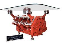 Ferrari 355 V8 Engine Block Coffee Table