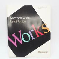 Vintage Microsoft Works Guide 1988 Manual Users Guide Apple Macintosh Systems
