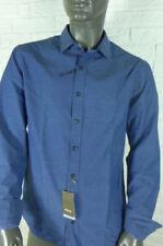 Gepunktete Langarm Herren-Freizeithemden & -Shirts Hemd-Stil