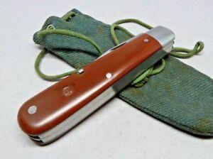 1949 Victorinox / Elsener Schwyz 100mm Model 1908 Soldier Swiss Army Knife