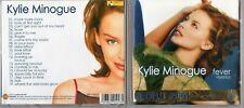 KYLIE MINOGUE CD PICTURE DISC COMPILATION FEVER + BONUS 19 TITRES 2001