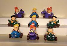 Vintage Flintstones Lot -McDonald's 1988 Happy Meal Toys- Regional, Rare - 18 pc