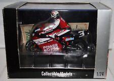 Luca Cadalora Power Horse Yamaha YZR500 1997 with Rider 1:24 ONYX