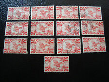 NOUVELLE CALEDONIE timbre yt n° 237 x13 obl (A4) stamp new caledonia