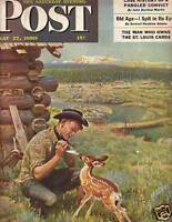 1950 Saturday Evening Post May 27 - St. Louis Cardinals