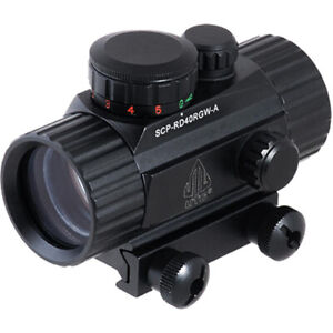 UTG 38mm ITA Red/Green CQB Tactical Dot Sight with Integral Mount