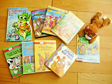 Kids Lot Of DVD's Books Dinosaurs Land Before Time Farm Child Baby Learn Stories