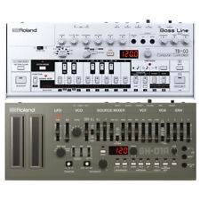 Roland TB-03 Bassline Synth with Roland SH-01A Synth Module New
