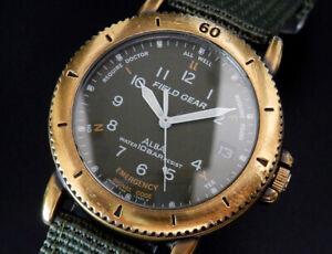 Working Seiko Alba Field Gear 1991 Vintage Quartz Mens Watch Y142 reloj uhr