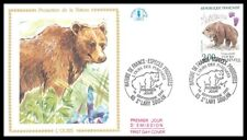 France (L'OURS) 1991 -  FDC