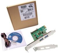 HP USB 3.0 Super Speed PCIe x1 Adapter Kit New BM867AA New Kit Retail Box
