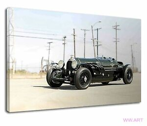 Vintage Bentley 8 Liter Hawkeye Special Canvas Wall Art Picture Print