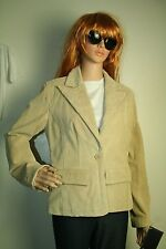 Adler Collection jacket blazer genuine leather womens size S NWT