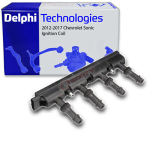Delphi Ignition Coil for 2012-2018 Chevrolet Sonic 1.4L L4 Wire Boot Spark xo