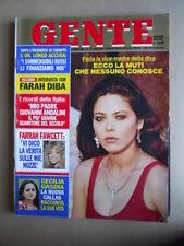 GENTE n°11 1982 Ornella Muti Farrah Fawcett Cecilia Gasdia Farah Diba [Q8]