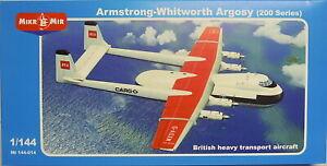 Armstrong-Whitworth Argosy (200 Series), Mikro Mir, 1:144, Plastik,  NEU!