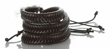 3 Black Braided Punk Rock Unisex Fashion Leather Bracelet Bangle Wristband Style