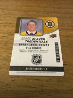 Ryan Donato Bruins 2018-2019  Upper Deck MVP Entry Level Access #NHL-RD