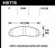 Hawk LTS Rear Brake Pads For 13-17 Ford F-250/350/450 Super Duty #HB715Y.713