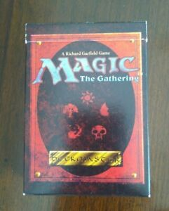 MTG: Starter Deck Box 4th EDITION - w/Rule Book and cards