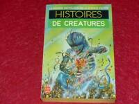 [BIBLIOTHEQUE H. & P.-J. OSWALD] HISTOIRES DE CREATURES COLL.GASF SF 1984 EO
