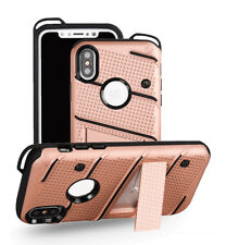 Heavy Duty case for iphone X / XS -Kickstand Shockproof Armour Hybrid Protective