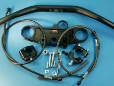 Abm Superbike Booster Lenker-Kit Suzuki SV 1000 S ( Wvbx ) 03-ff Nero