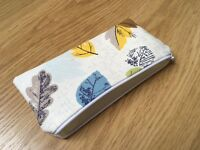 Fabric Pencil / Make Up / Glasses Case Made With Gorgeous Cath Kidston Woodland