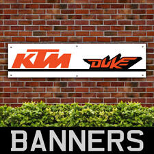 KTM Duke PVC Banner Garage Workshop Motorbike Racing Sign (BANPN00049)
