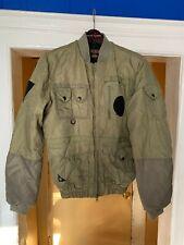 10 Deep Maverick Aviator Jacket Olive SZ Small (MINOR CONDITION)