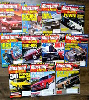 (11 Issues) 2002 Mustangs & Fords Magazine Shelby Cobra Boss FREE SHIPPING