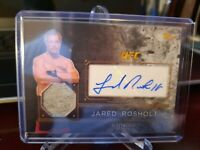 2016 Topps UFC Top of the Class Relics Jared Rosholt #TCAR-JR Auto
