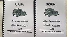 LTI FAIRWAY & FAIRWAY DRIVER TAXI WORKSHOP MANUAL REPRINTED