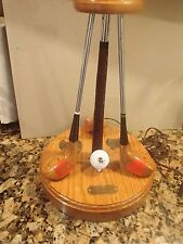 """Vintage Westbrook Country Club Golf Club Lamp """"Because it is more than a Game"""""""