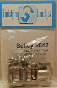 Shelly Finishing Touches HO Crazy Inspection Car Model T Ford Kit NOS see photos