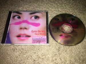 FAYE WONG Eyes On Me - 1999 CD - Taiwan - Final Fantasy VIII