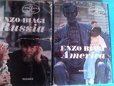 SAGGIO: RUSSIA + AMERICA (LA GEOGRAFIA DI ENZO BIAGI) di ENZO BIAGI - RIZZOLI .
