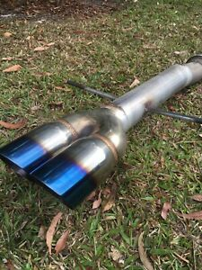 MINI COOPER S R56 STRAIGHT PIPE EXHAUST