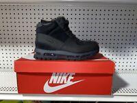 Nike Air Max Goadome ACG Mens Leather Sneakerboots Size 10 Black BQ3459-001