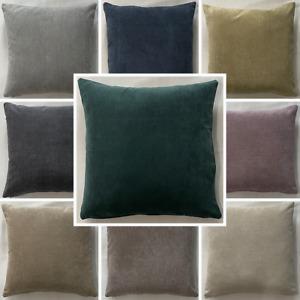 High Quality Handmade Fernando Suede Like Cushion Cover Home Decor Sofa Zipper