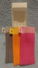 3 X Genuine Apple Ipod Socks: M9720G/B Covers