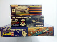 Plastic Aircraft Kits ~ Scale 1:72~ USA Fighters ~ Fujimi,Revell ~ rare items