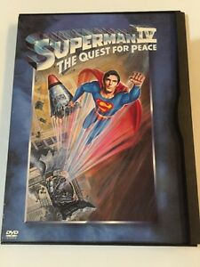 Superman IV: The Quest for Peace (DVD, 2001)